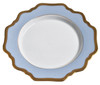 Anna Weatherley Anna's Palette - Sky Blue Bread and Butter Plate