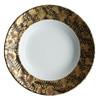 J.L. Coquet Trois Ors Black Rim Soup Plate