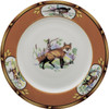 "Julie Wear American Wildlife Fox Luncheon Plate (9"")"
