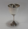 Cobell Silver Company Gadroon Silver Plated Chalice Goblet