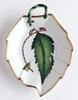 Anna Weatherley Green Leaf Leaf Dish