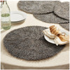 Two's Company Guinea Feather Placemats