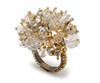 Kim Seybert Crystal Dome Napkin Ring-Set of Four