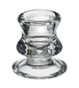 Point a la Ligne Small Glass Candle Holder