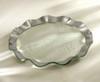 """Annie Glass Ruffle 11"""" Dinner Plate"""