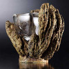 Steuben Glass Golden Neptune Cup