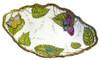 Anna Weatherley Exotic Butterflies Open Vegetable Serving Bowl