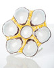 Abigails Ceramic Round Oyster Plate Canary Yellow