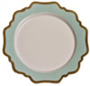 Anna Weatherley Anna's Palette - Aqua Green Dinner Plate