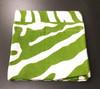 Julian Mejia Design Zebra Green Linen Napkin