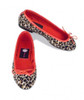 By Paige Needlepoint Shoes Leopard Needlepoint Ballet Flats