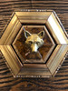 Museum Bees Gilt Wooden Frame with Fox