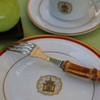 Pickard Charlotte Moss Pagoda Motif Dinner Plate