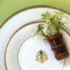 Pickard Charlotte Moss Pineapple Motif Salad Plate