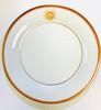 Pickard Charlotte Moss Shell Motif Dinner Plate