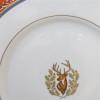 Pickard Charlotte Moss Stag Motif Salad Plate