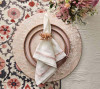 Camellia Napkin Ring in Blush, Set of 4 by Kim Seybert