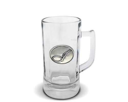 Vagabond House Monogram I Glass Beer Stein
