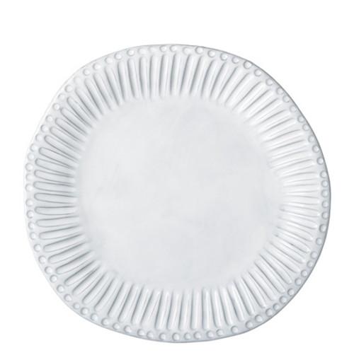 Vietri Incanto White Stripe Dinner Plate