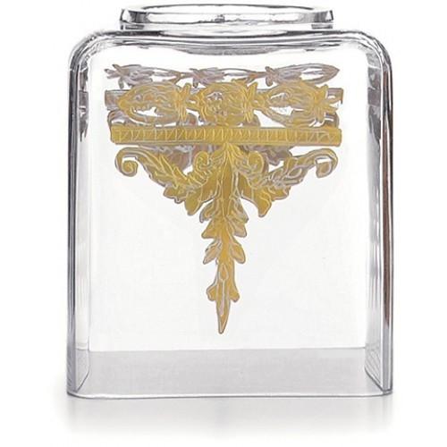 Arte Italica Baroque Gold Tissue Box Holder