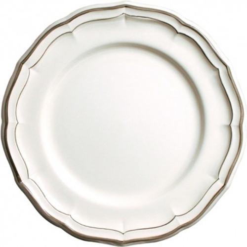 Gien France Filet Taupe Dinner Plate