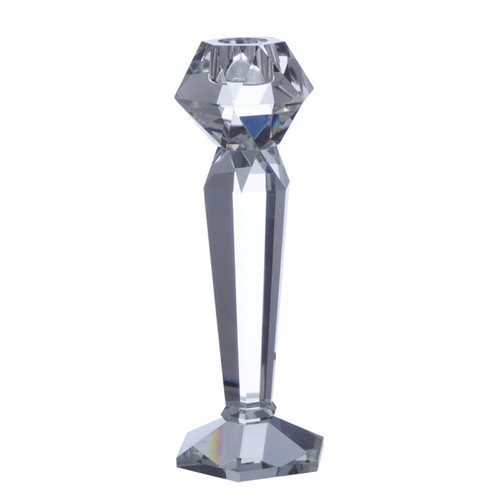 Point a la Ligne Facets Small Candle Holder