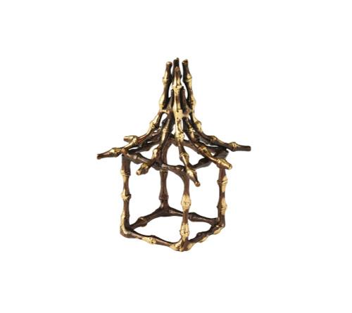 Kim Seybert Bamboo Pagoda Napkin Rings (Set of 4)