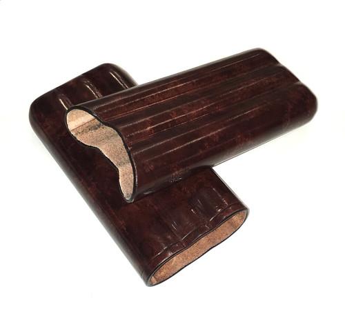 Peroni Firenze Leather Cigar Case (Large)