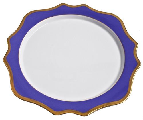 Anna Weatherley Anna's Palette - Indigo Blue Charger