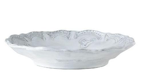 Vietri Incanto White Lace Bowl
