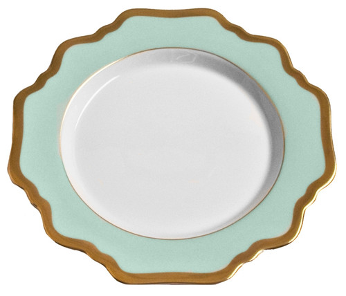 Anna Weatherley Anna's Palette - Aqua Green Bread and Butter Plate