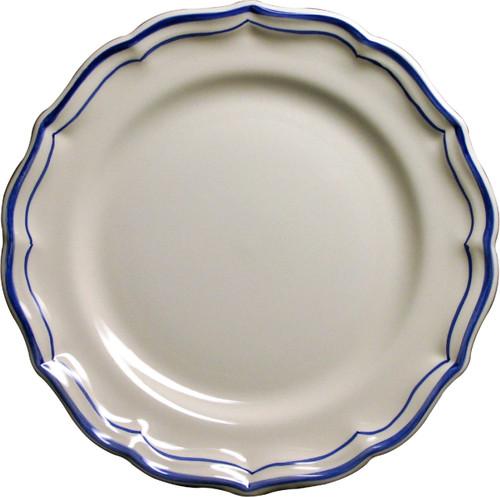 Gien France Filet Bleu Dessert Plate