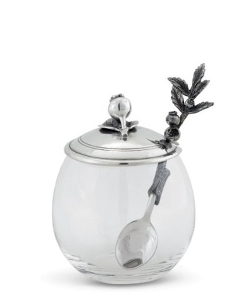 Vagabond House Blueberry Jam Jar with Spoon