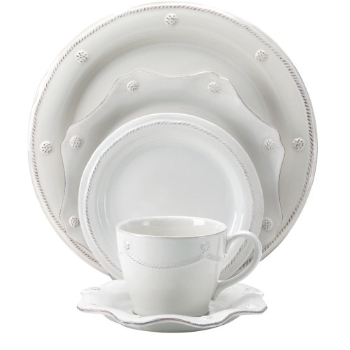 Juliska Berry and Thread White 5-Piece Place Setting