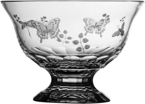 "Varga Crystal Springtime Footed Bowl (10"")"