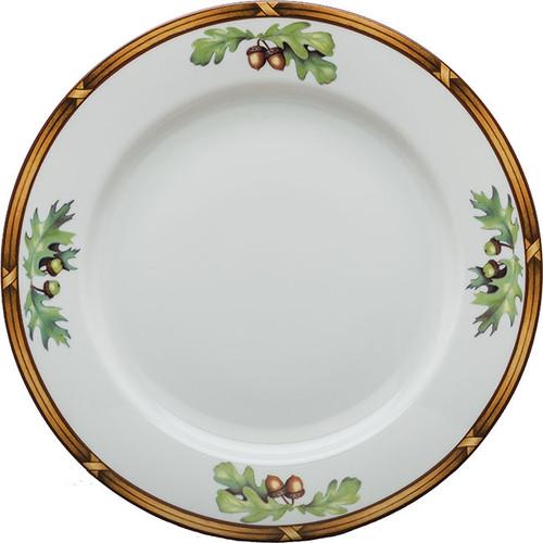 Julie Wear Game Birds Plain Center Dinner Plate