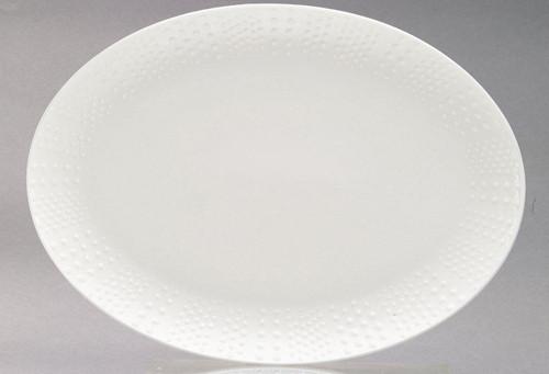 Medard de Noblat Corail - White Oval Dish Big