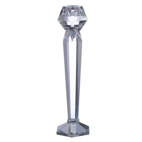 Point a la Ligne Facets Medium Candle Holder