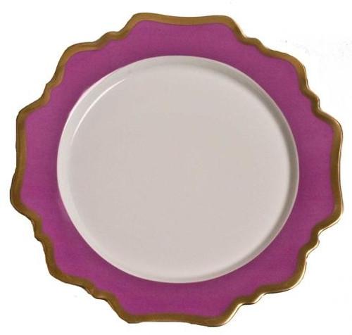 Anna Weatherley Anna's Palette - Purple Orchid Dinner Plate