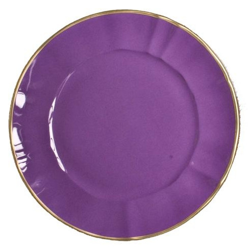 Anna Weatherley Lavender Charger
