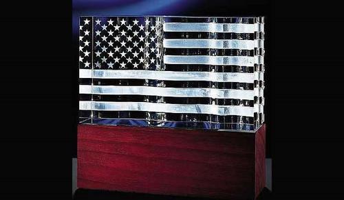 Steuben Glass Star Spangled Banner