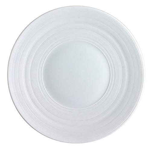 J.L. Coquet Hemisphere White Bread & Butter Plate