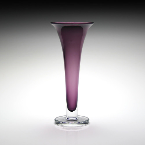 William Yeoward Country Amethyst Footed Vase