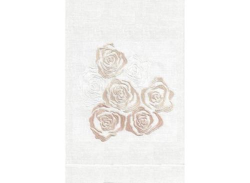 Anali Rose Linen Guest Towel