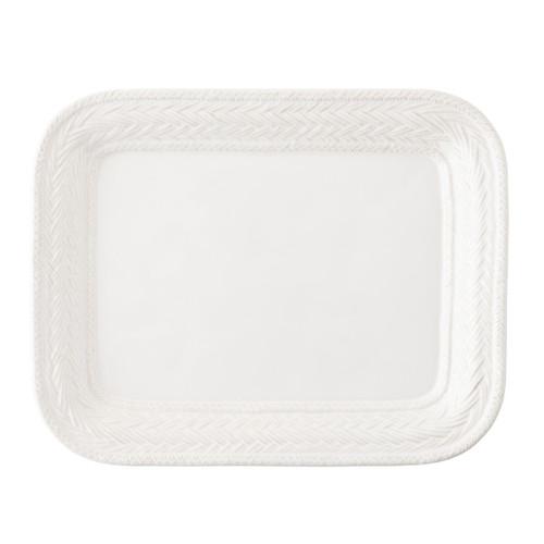 Juliska Le Panier Rectangular Platter White