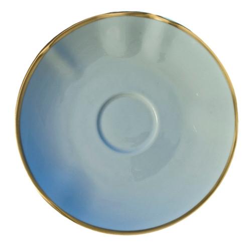 Anna Weatherley Powder Blue Tea Saucer