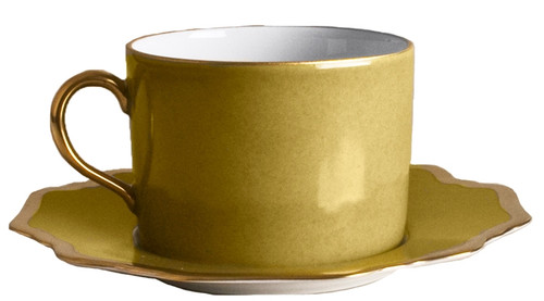 Anna Weatherley Anna's Palette - Meadow Green Tea Saucer