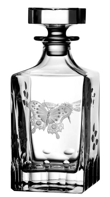 Varga Crystal Springtime Whiskey Decanter