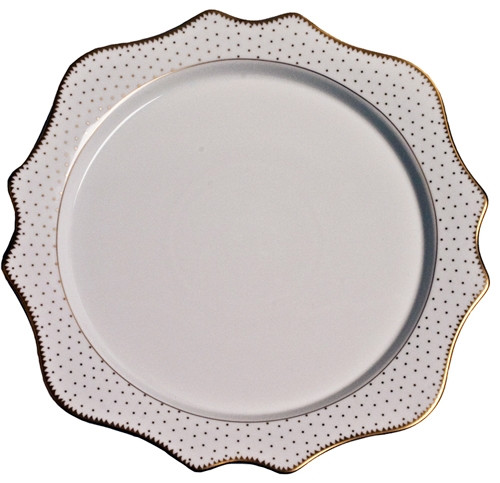 Anna Weatherley Simply Anna - Antique Polka Charger