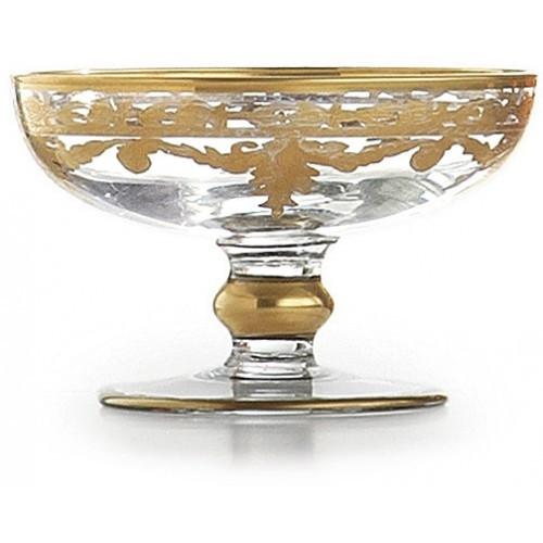 Arte Italica Baroque Gold Compote/Soap Dish